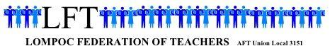 LOMPOC FEDERATION OF TEACHERS